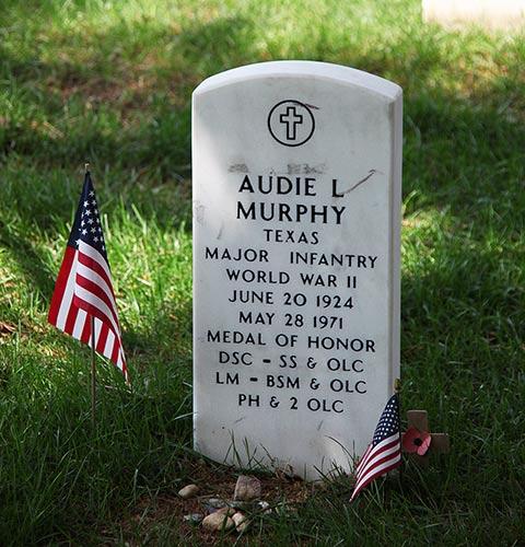 First Lieutenant Audie Murphy Military Medals